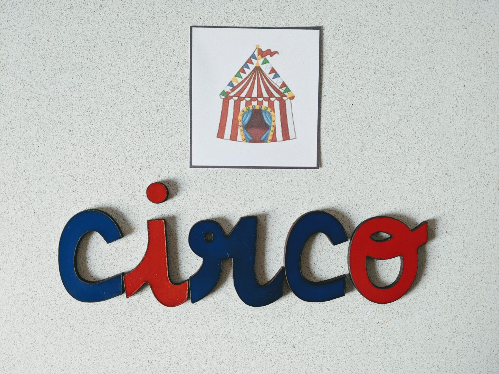 atividade montessoriana dia do circo