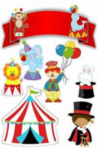 atividade para contar historias circo