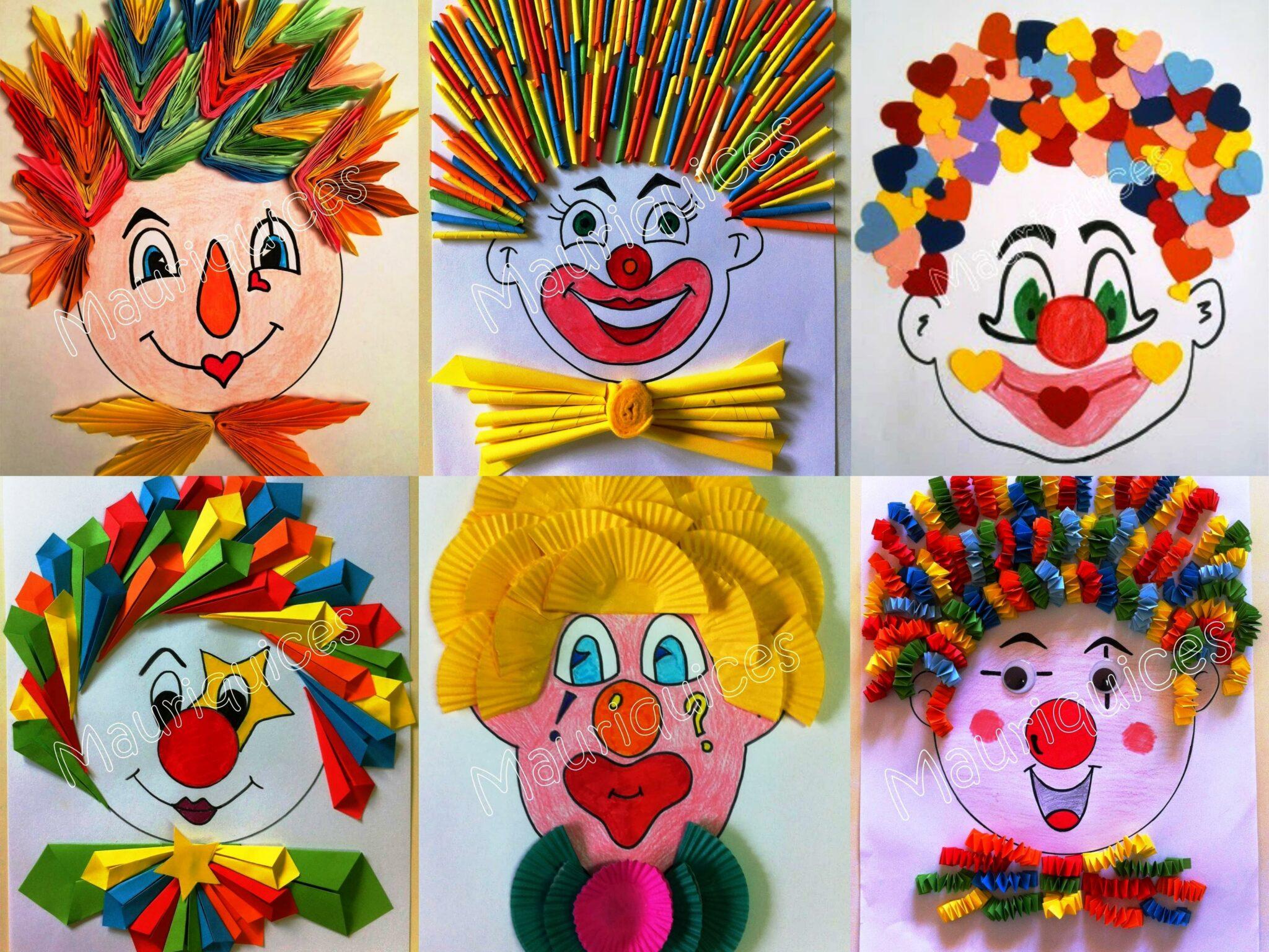 atividades de palhacos para dia do circo
