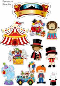 brincadeira de circo infantil