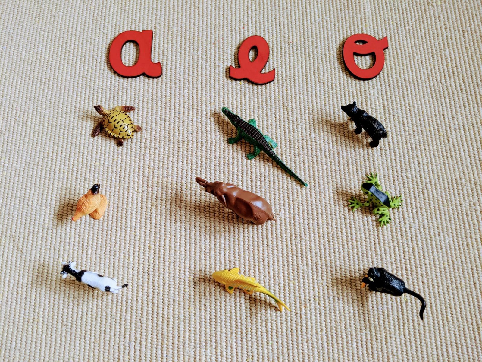 consciencia fonologica sons finais dos animais