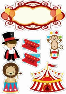 fantoche para criancas tema circo