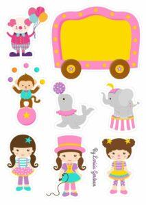 fantoches de circo para criancas