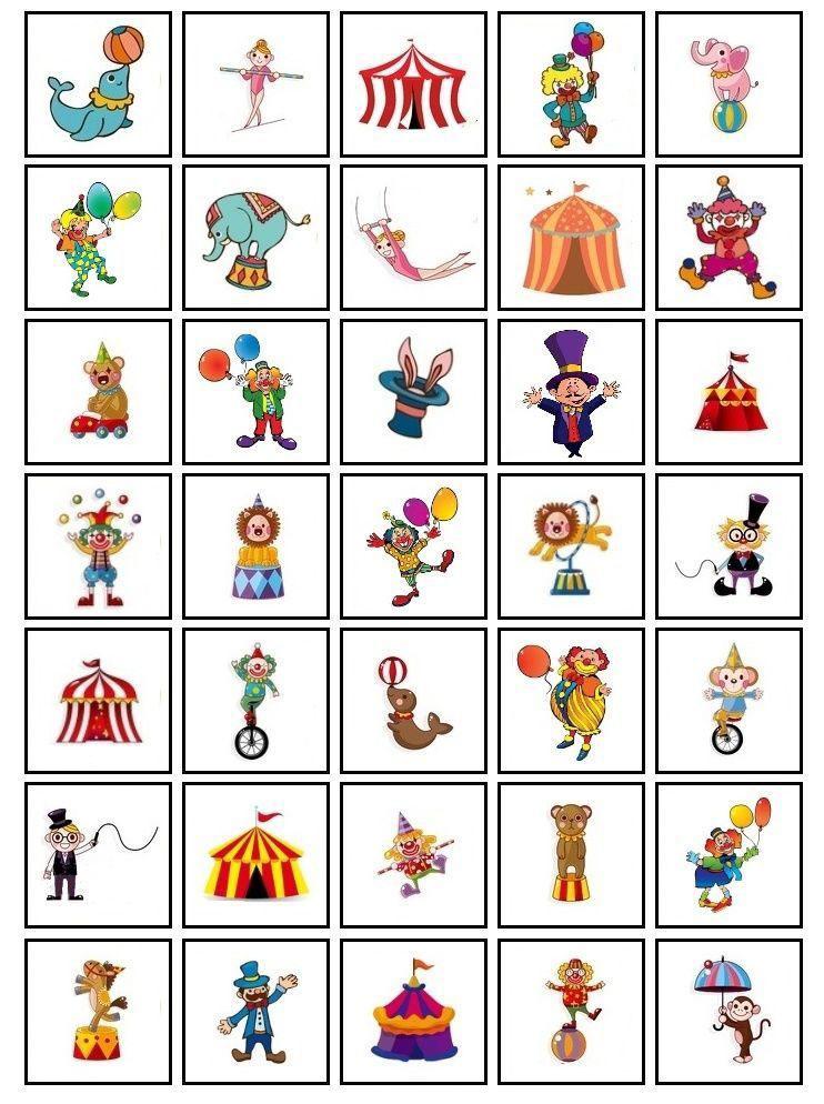 imagens personagens do circo