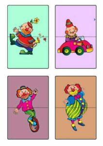 quebra-cabeca dia do circo educacao infantil