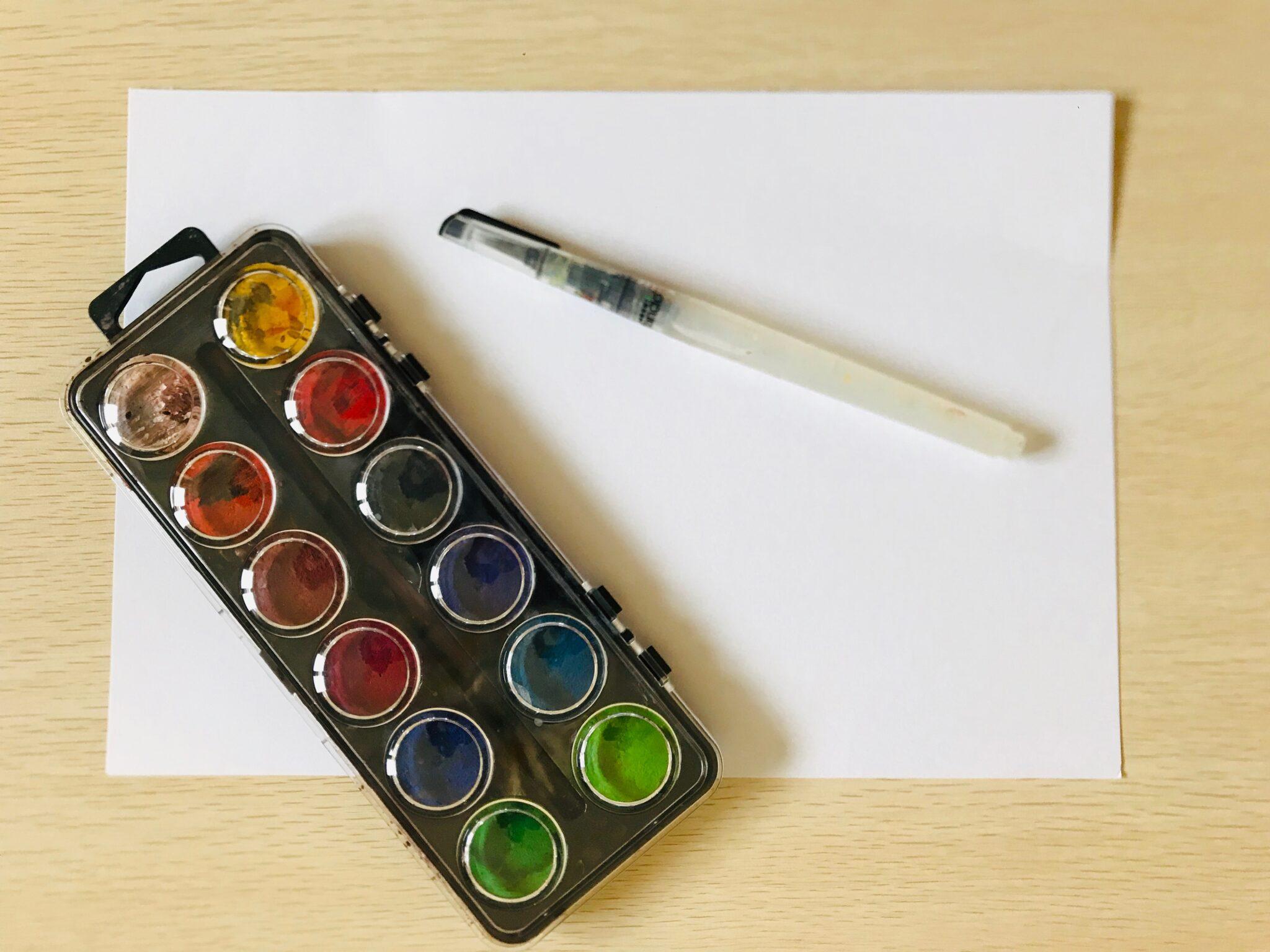 atividade de artes com aquarela 01