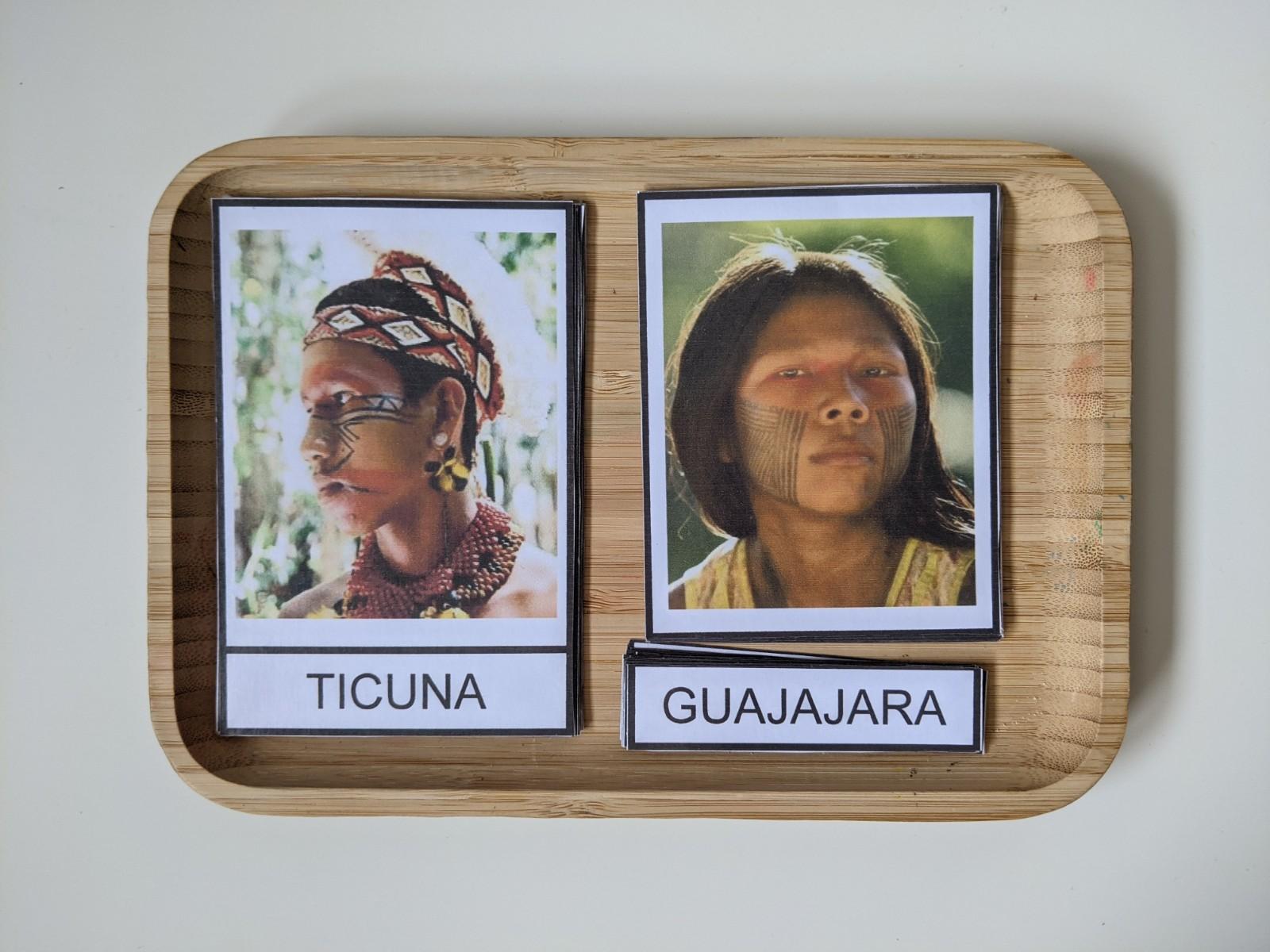 atividade sobre tribos indigenas brasileiras