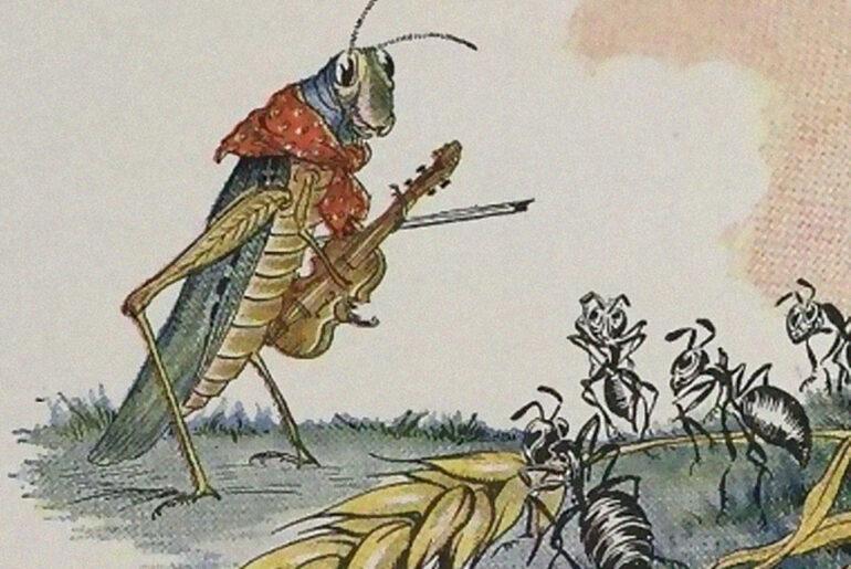 historia a cigarra e a formiga