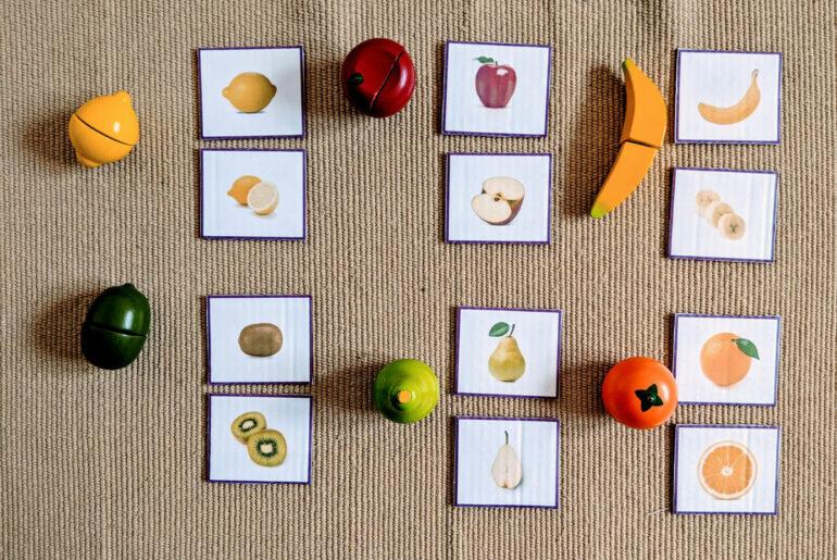 Atividade com frutas para Educação Infantil