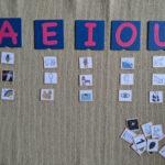 Atividade com vogais para imprimir