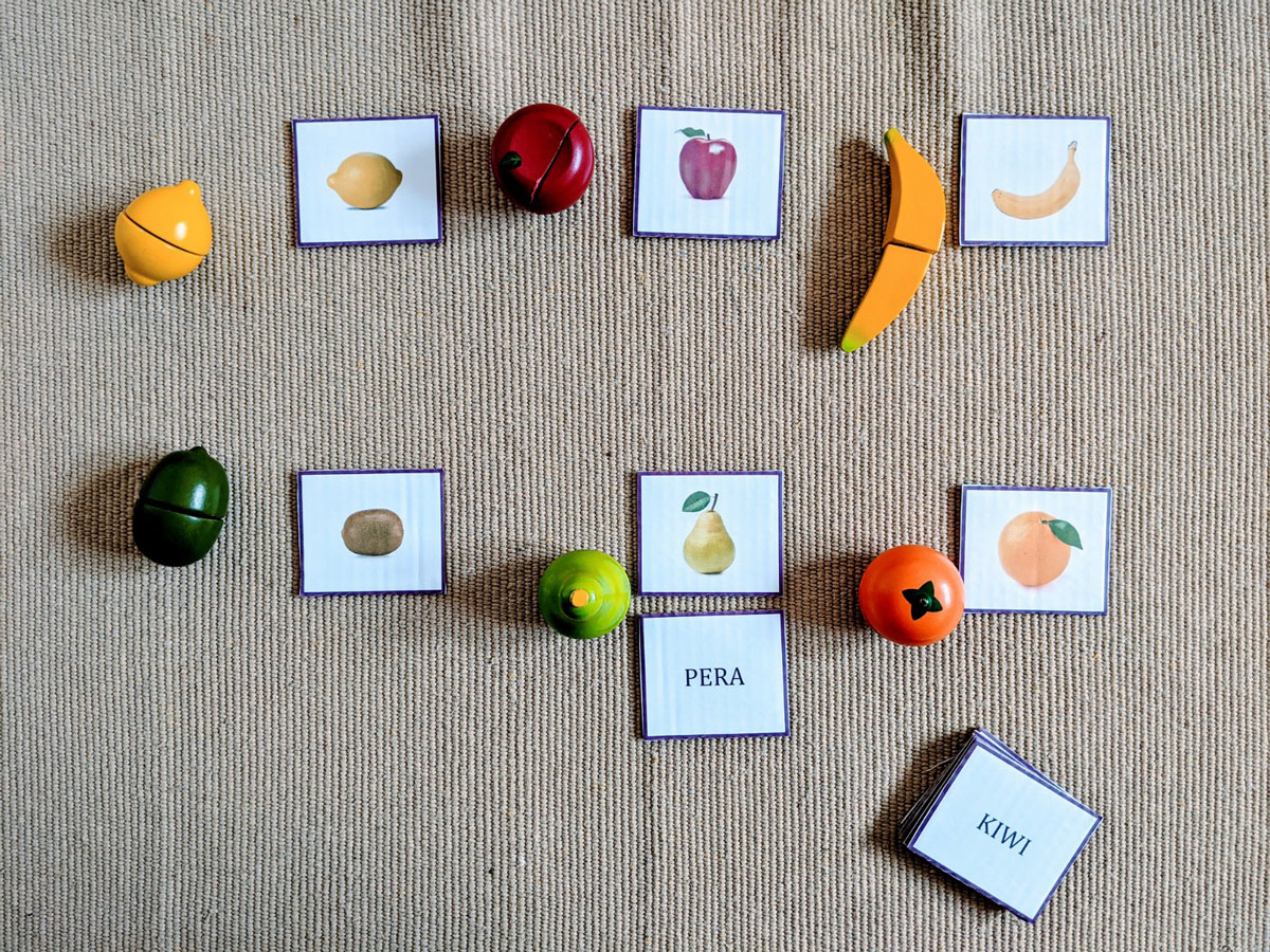 Atividade de frutas para Educação Infantil