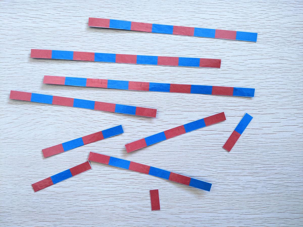Barras numéricas