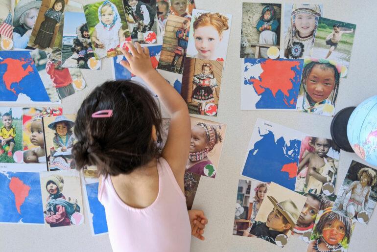Crianças do mundo para imprimir