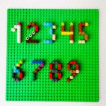 Aprender os números com Lego